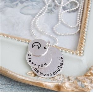 Jewelry - Brand New I love you to the moon and back necklace